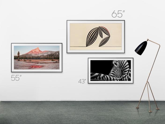 Samsung QLED TV-диагональ экрана