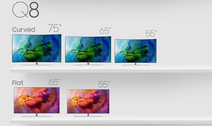 Samsung QLED TV-серия Q8