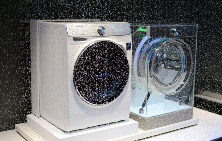 Samsung на IFA-2017-новая стиральная машина с обратно вращающимся барабаном