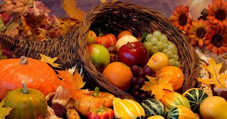 Сезонные продукты,осенний режим питания