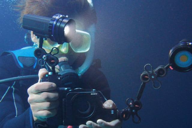 Sony RX0-под водой