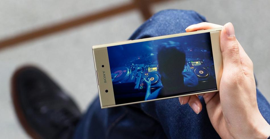 Sony Xperia XA1 Plus-новейшие системы Hi-Fi