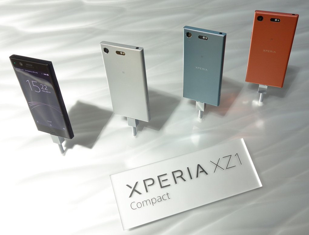 Sony Xperia XZ1 Compact-расцветки