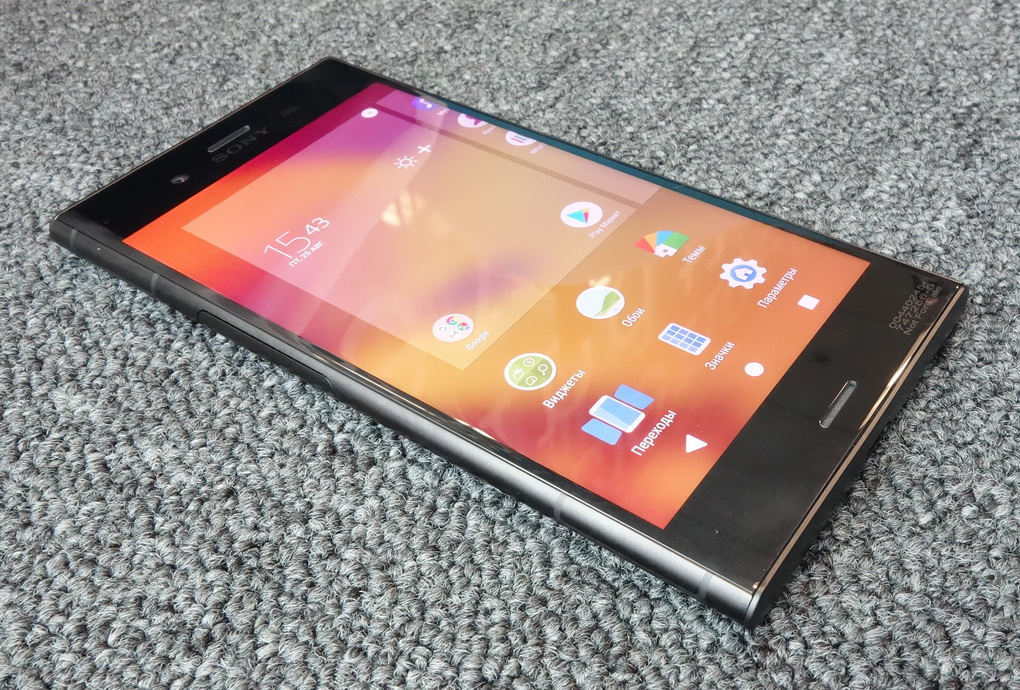Sony Xperia XZ1-экран фото 1