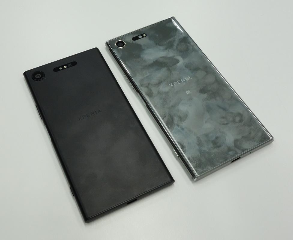 Sony Xperia XZ1 и XZ Premium-фото