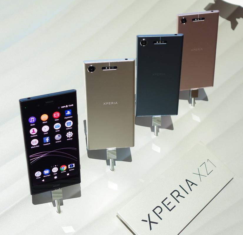 Sony Xperia XZ1-расцветки модели