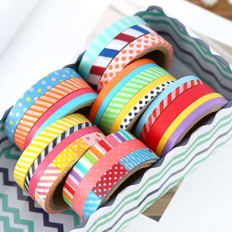 Цветной декоративной скотч-ассортимент