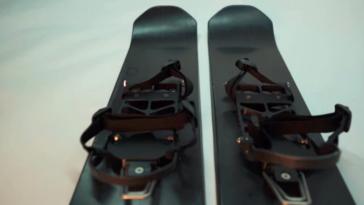 Унікальний винахід- об'єднання різних видів лиж та спеціального взуття для пересування по снігу