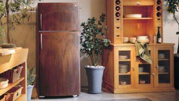 Жажда перемен замечательные идеи декора старого холодильника и как его преобразить