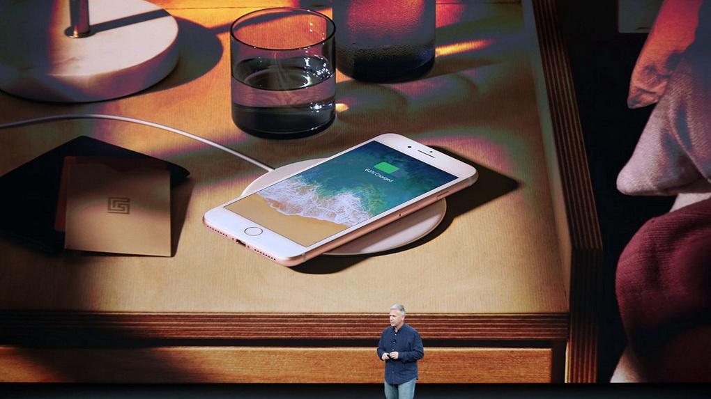 iPhone 8 и iPhone 8 Plus-беспроводная зарядка