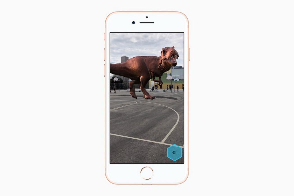 iPhone 8 и iPhone 8 Plus-дополненная реальность