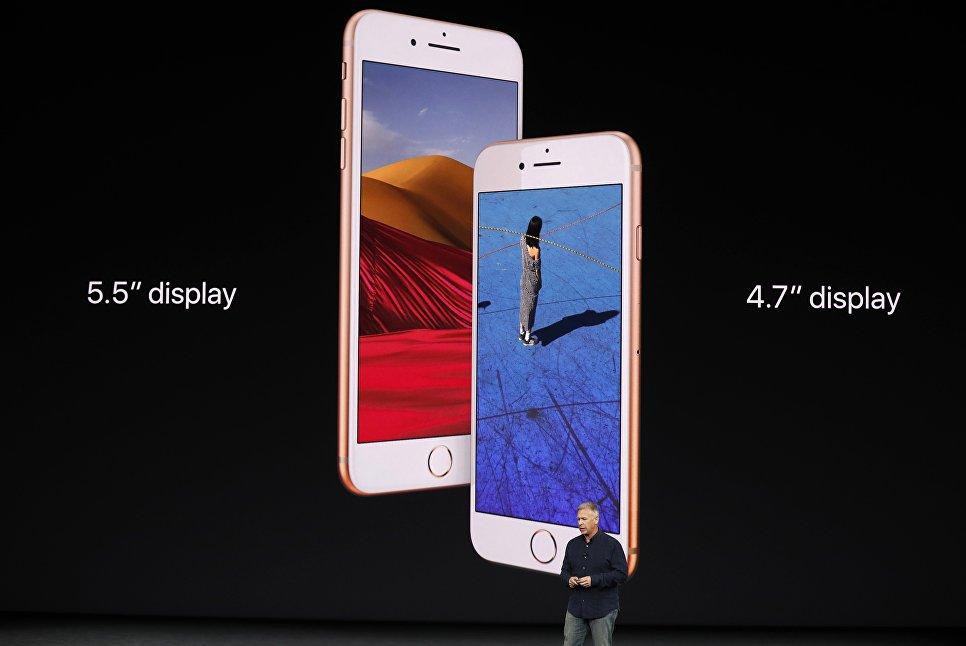 iPhone 8 и iPhone 8 Plus-размер экрана