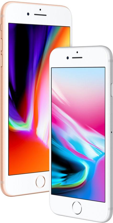 iPhone 8 и iPhone 8 Plus-стеклянный корпус