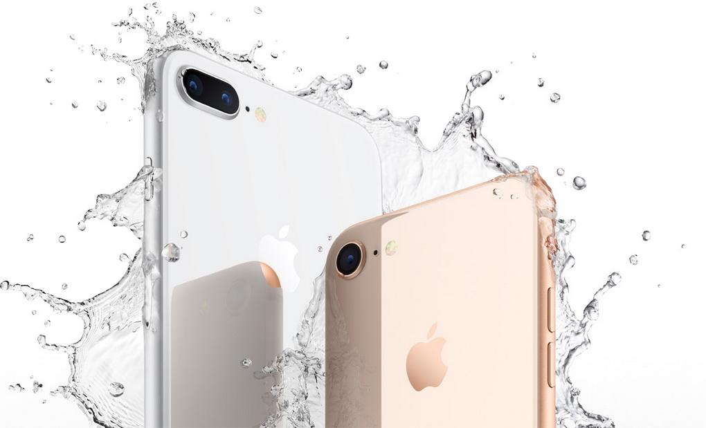 iPhone 8 и iPhone 8 Plus-защита от влаги