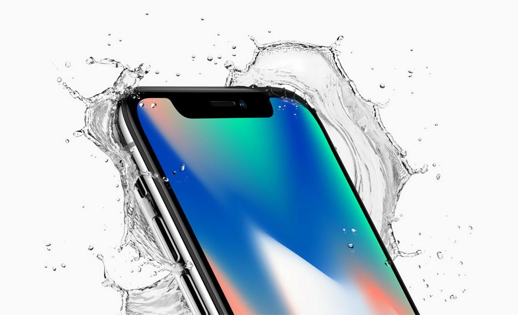 iPhone X-c 5,8-дюймовым OLED-дисплеем