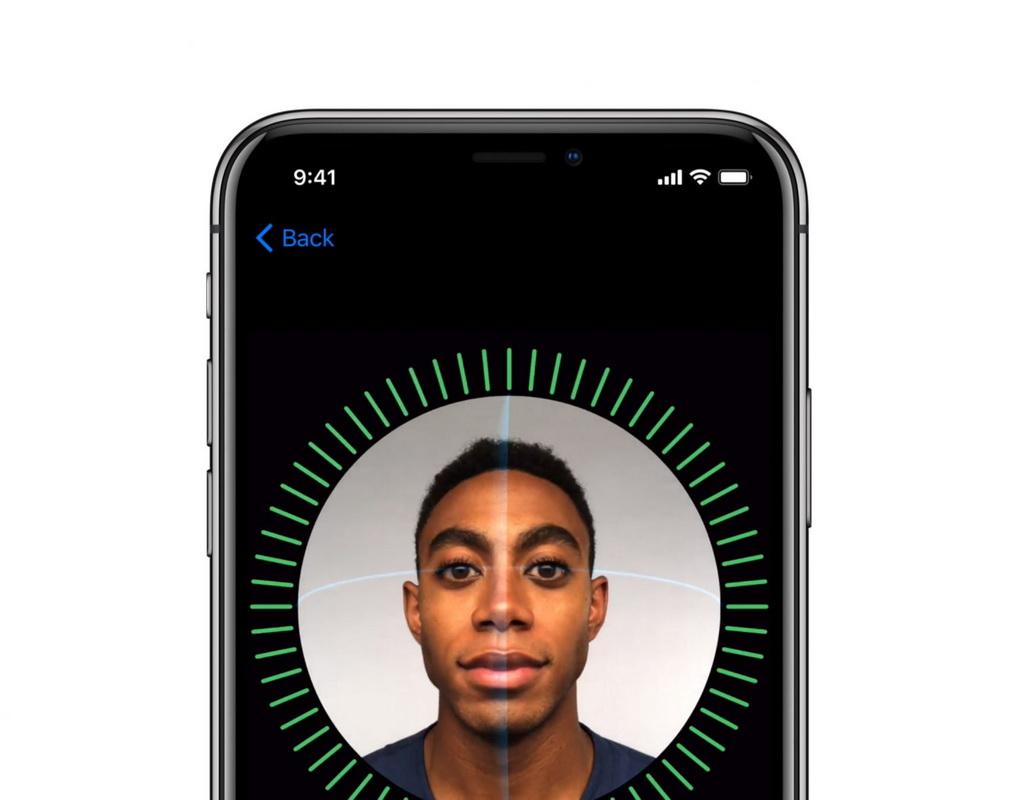 iPhone X-картирование лица