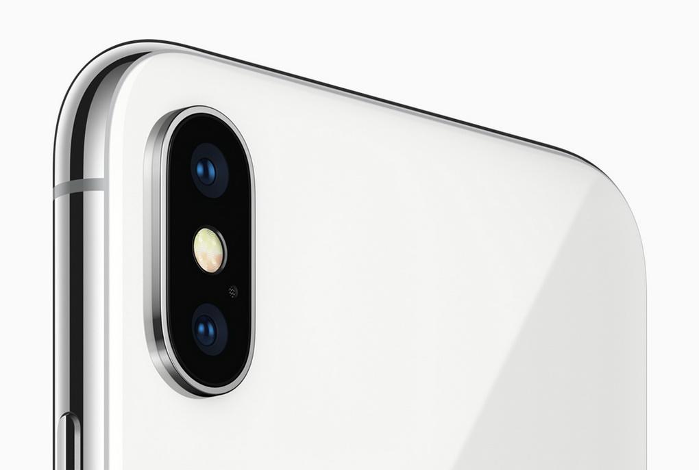 iPhone X-тыловая сдвоенная камера