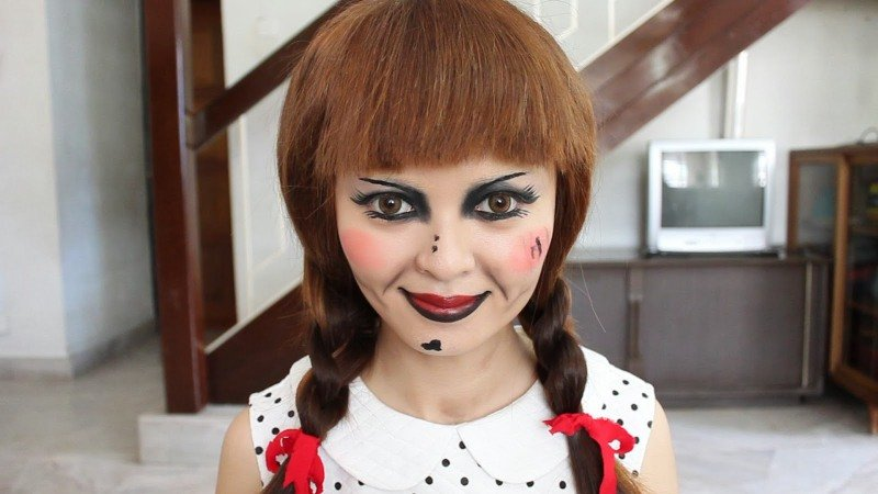 Аннабель-подготовка к Хэллоуину
