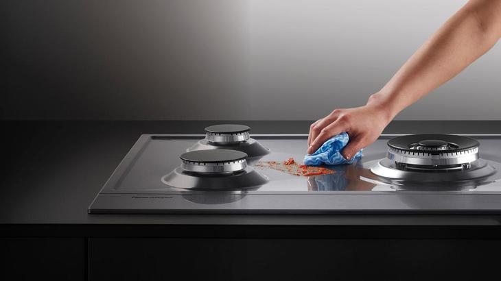 Чем быстро и безопасно очистить газовую плиту - моем варочную поверхность