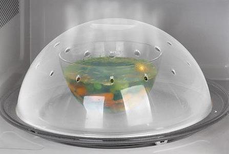 Чистка микроволновой печи_удаляем загрязнения без вреда для пищи - крышка для микроволновки