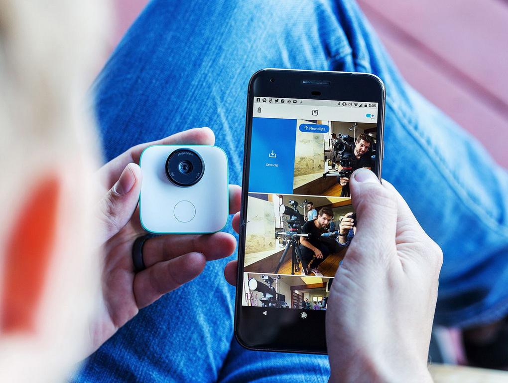 Google Clips-фото