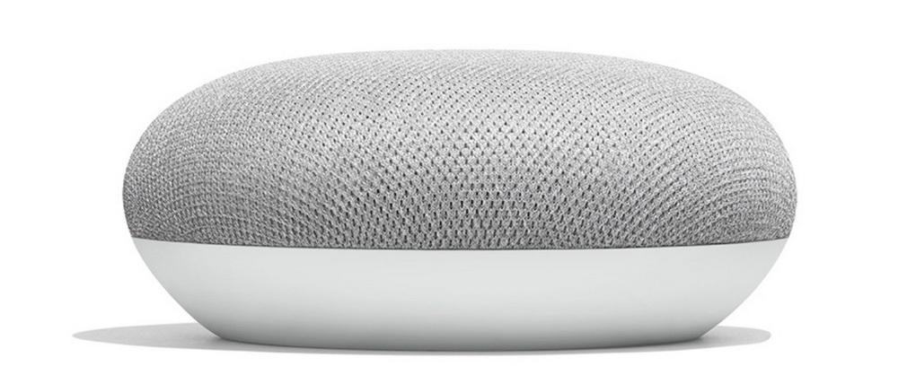 Google Home Mini-домашний помощник-колонка крупный план