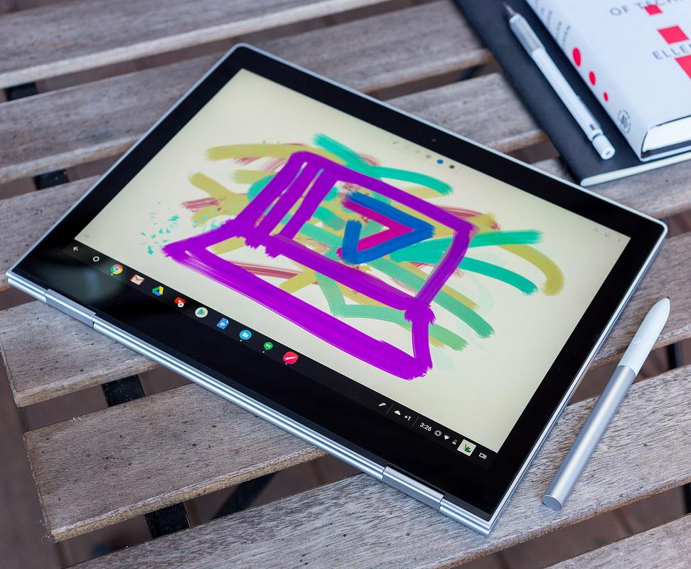Google Pixelbook-работа с экраном фото 2