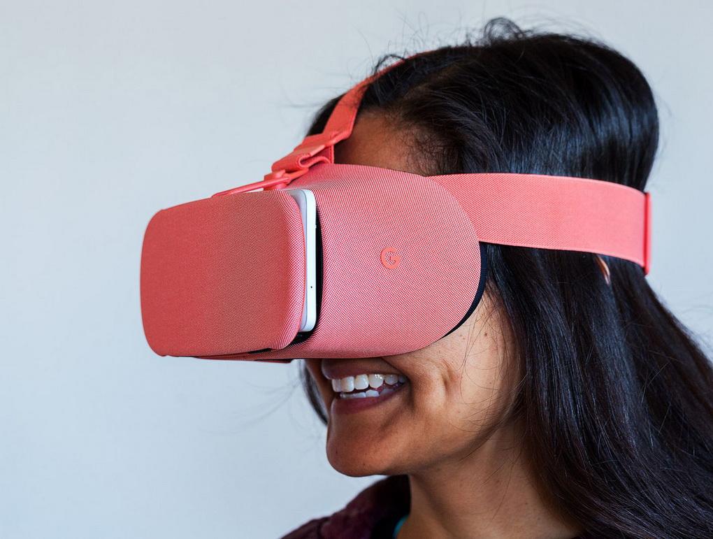 Google-обновленный VR-шлем Daydream View фото 4