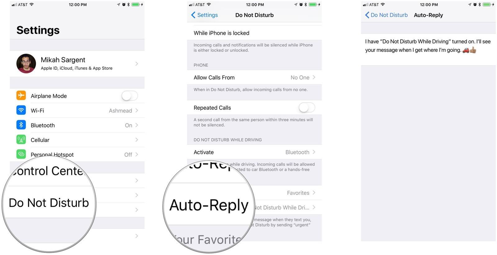 Как пользоваться режимом «Не беспокоить водителя» в iOS 11 – фото 4