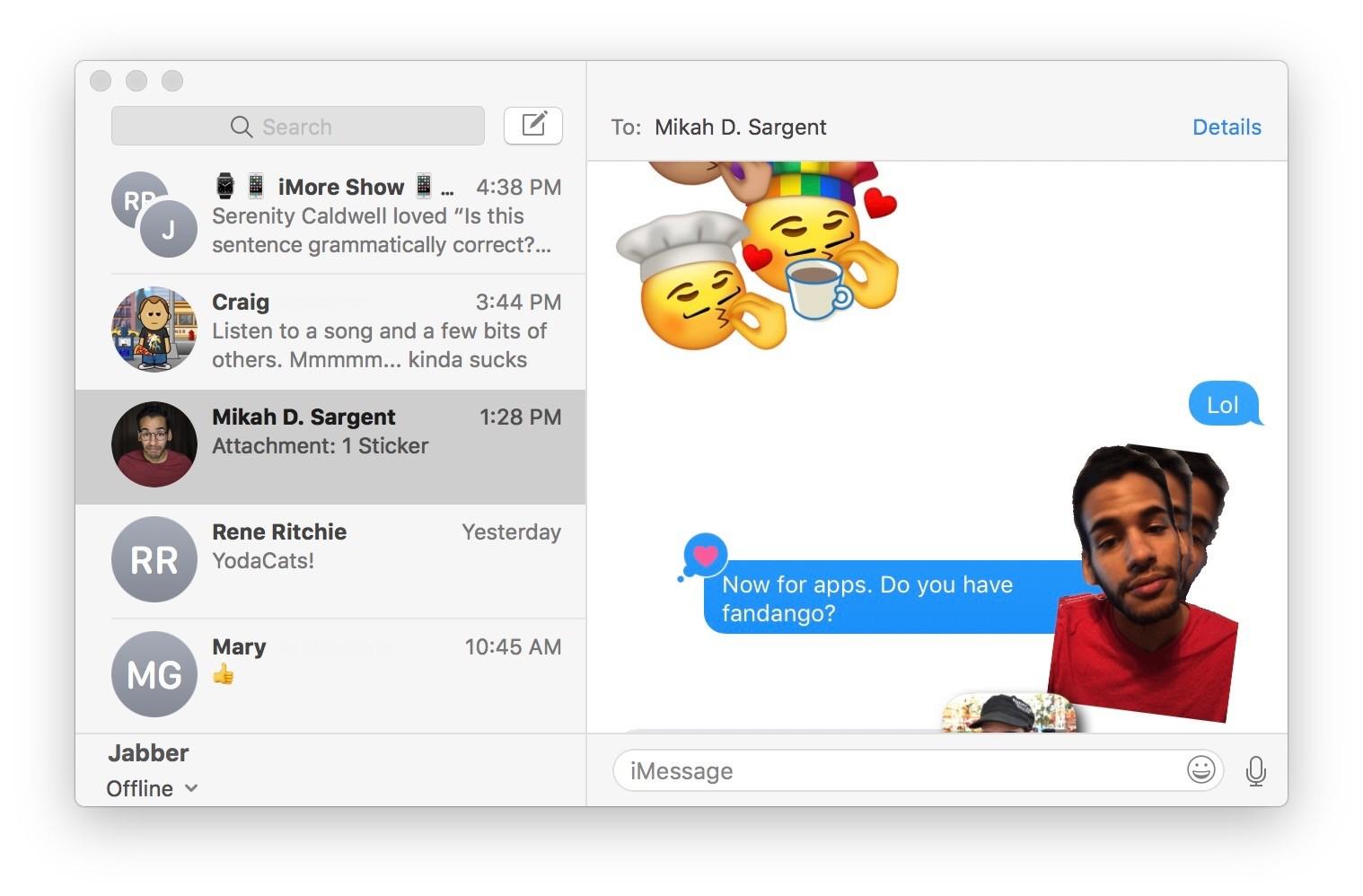 Как пользоваться стикерами и приложениями в iMessage на iPhone и iPad – фото 20
