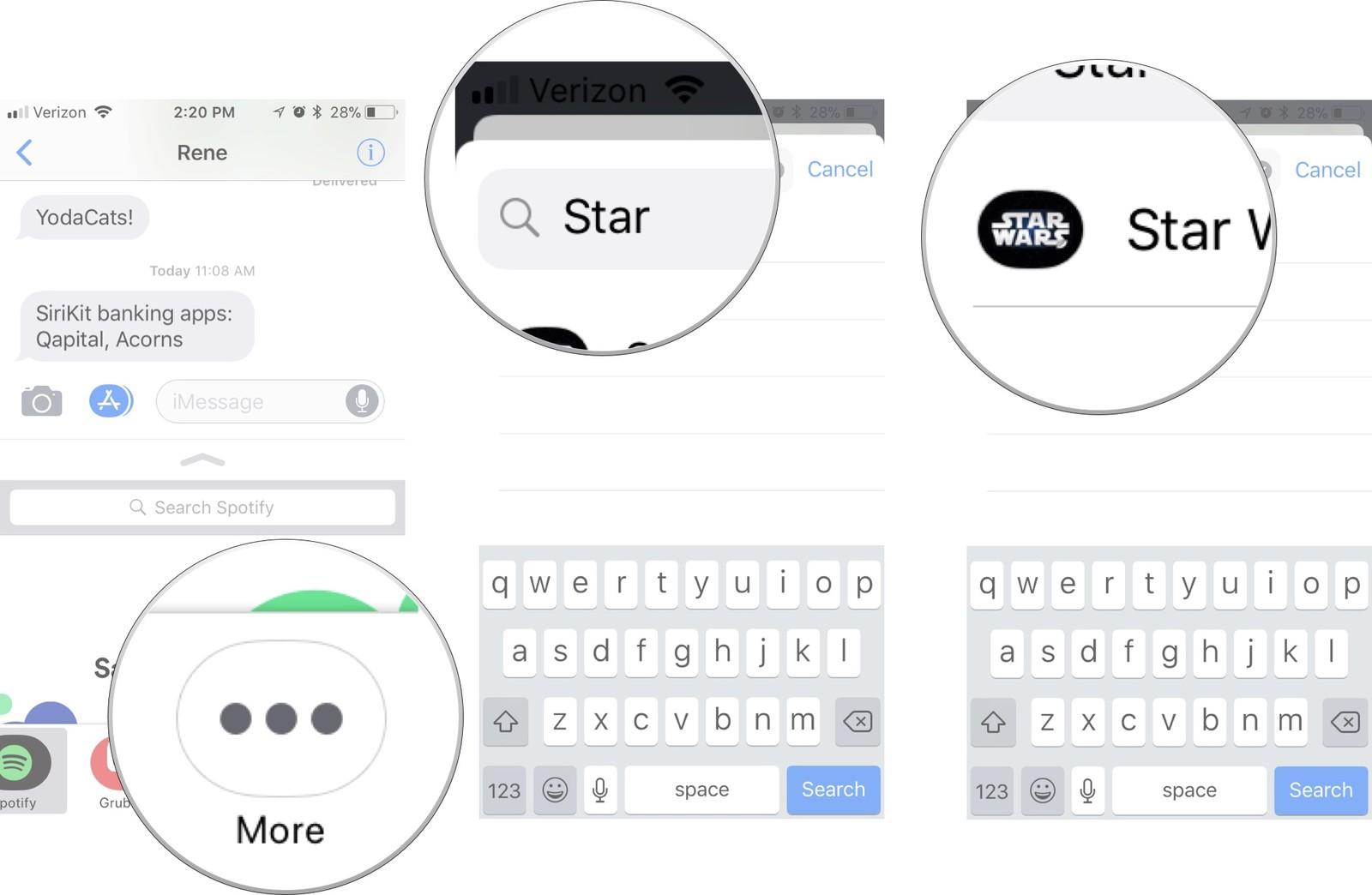 Как пользоваться стикерами и приложениями в iMessage на iPhone и iPad – фото 8