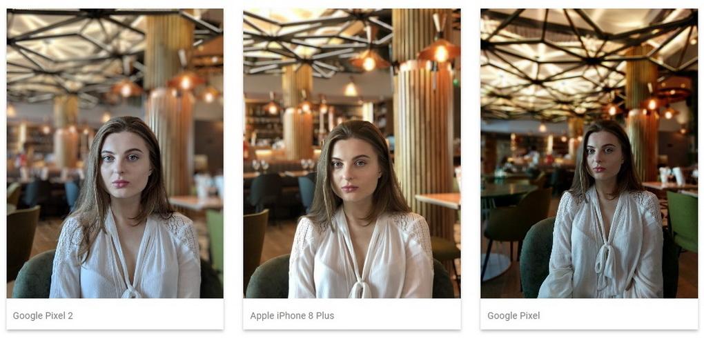 Камера Google Pixel 2-сравнение с конкурентами