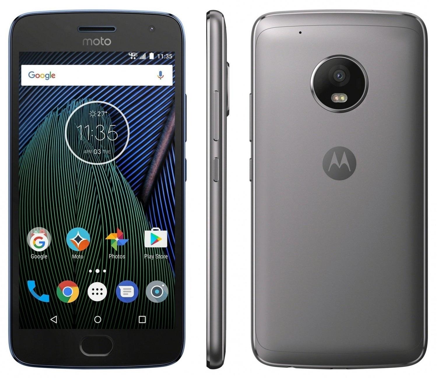 Лучшие бюджетные смартфоны последних лет обзор – Motorola Moto G5 (2)