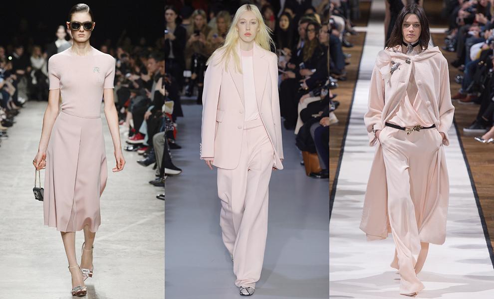 Модные тенденции с показов сезона осень-зима – 2017- благородный нюд