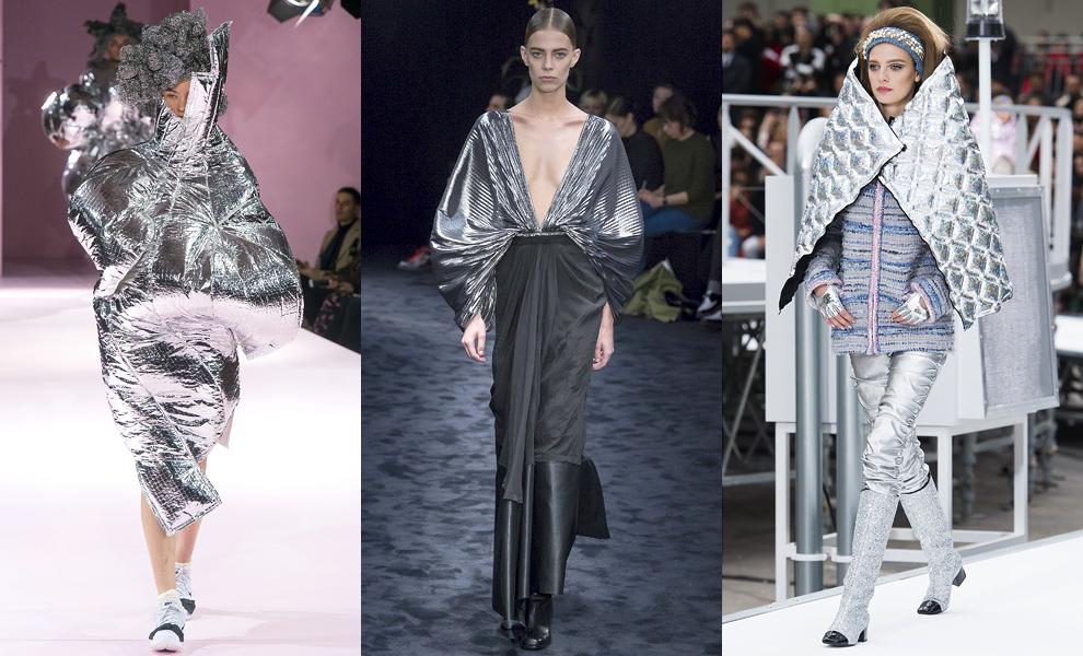 Модные тенденции с показов сезона осень-зима – 2017-футуристические мотивы