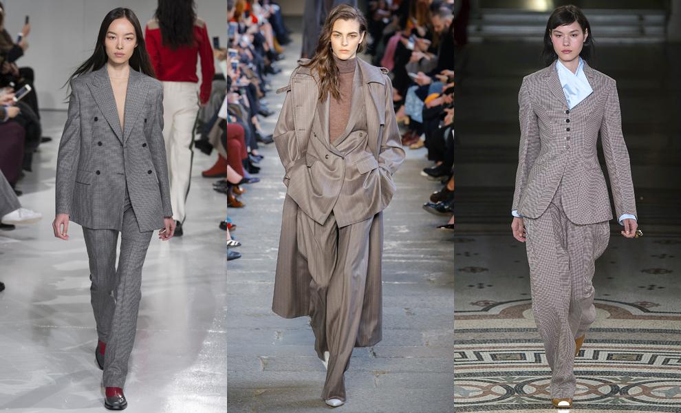 Модные тенденции с показов сезона осень-зима – 2017-объемные мужские костюмы фото 1