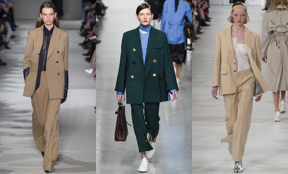 Модные тенденции с показов сезона осень-зима – 2017-объемные мужские костюмы фото 3