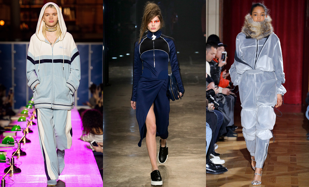 Модные тенденции с показов сезона осень-зима – 2017-спортивная тематика фото 3