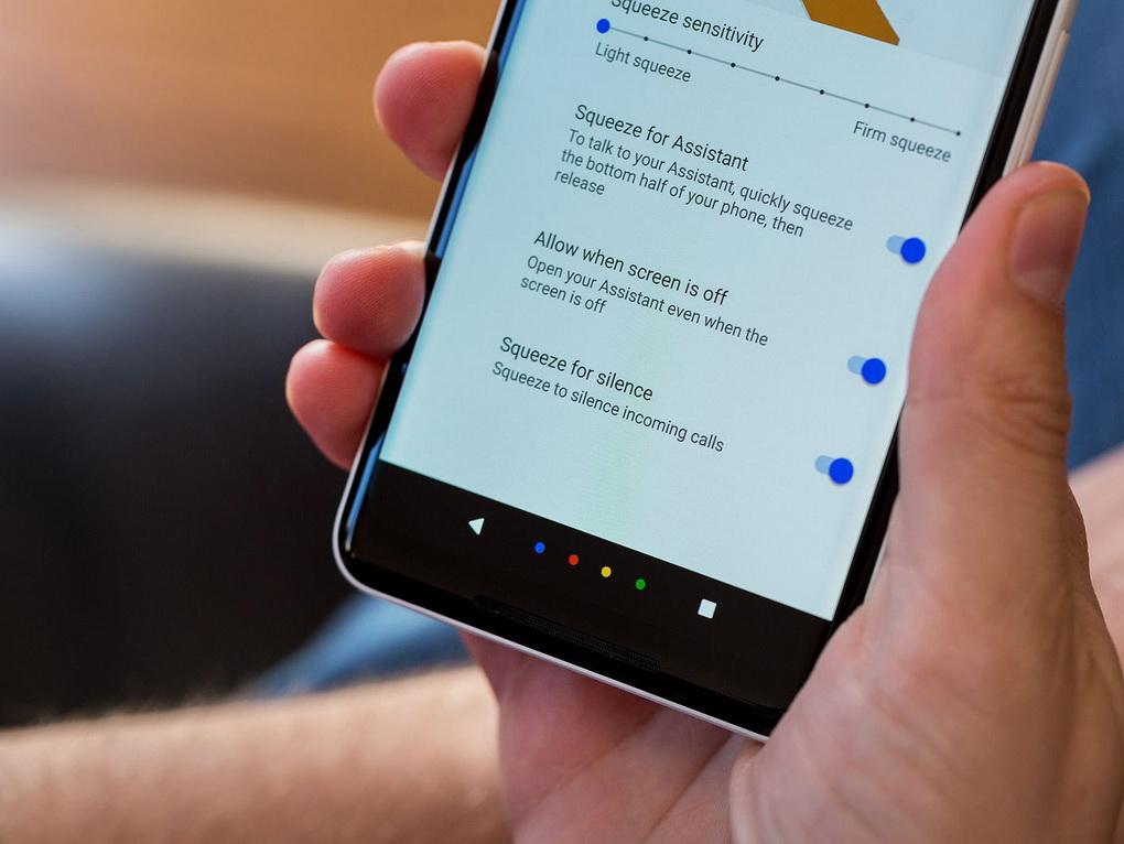 Новые Google Pixel-настройки