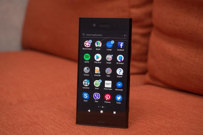 Обзор смартфона Sony Xperia XZ1 – ПО и интерфейс