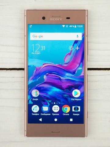 Обзор смартфона Sony Xperia XZ1 – дизайн (3)