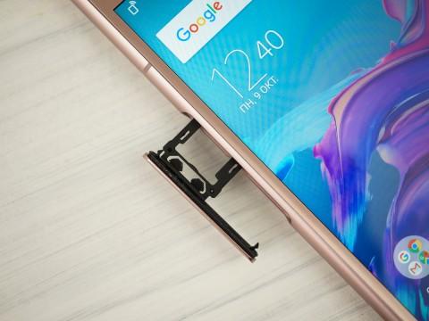 Обзор смартфона Sony Xperia XZ1 – дизайн (6)