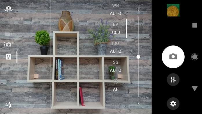 Обзор смартфона Sony Xperia XZ1 – приложение камеры