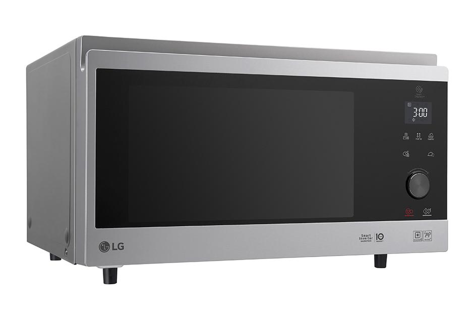Обзор современных микроволновок - микроволновка с конвекцией LG