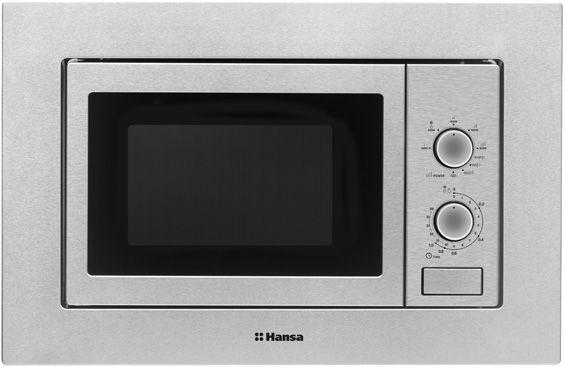 Обзор современных микроволновок - встраиваемая микроволновка Hansa