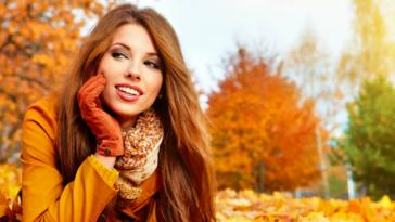 Осенний уход за волосами и кожей лица
