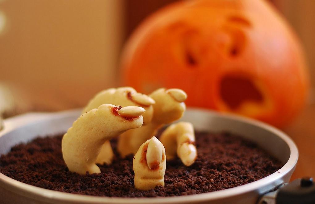 Пальцы ведьмы-печенье для Хэллоуина