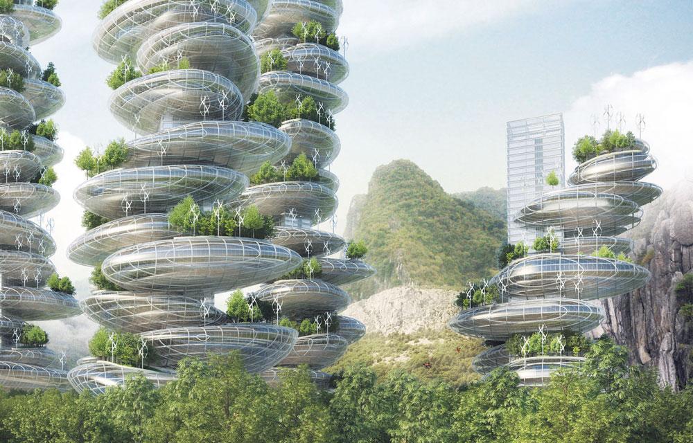 Папка «Фото», Города будущего- реализованные и перспективные проекты – города из гальки.