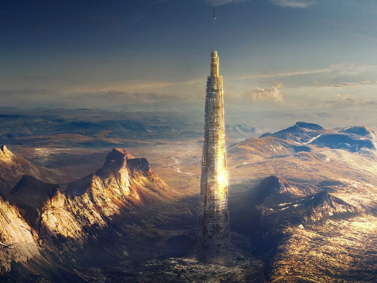 Папка «Фото», Города будущего-реализованные и перспективные проекты – города-небоскребы