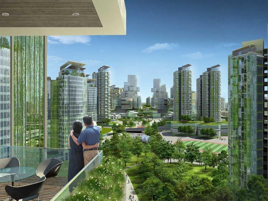 Папка «Фото», Города будущего-реализованные и перспективные проекты – зеленые города.